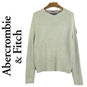 ABERCROMBIE & FITCH | Oatmeal Cable Knit Sweater